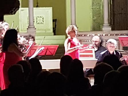 Grande successo di pubblico per il concerto barocco ad Alba Fucens
