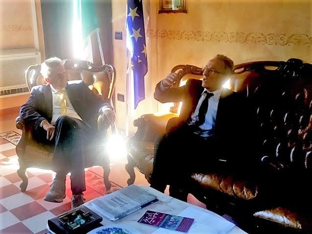 Focus sulla realtà industriale nella Marsica, il sindaco Di Pangrazio incontra il vicepresidente Lolli