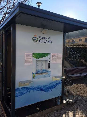 Acqua minerale a chilometri zero a Celano