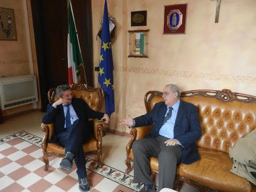 Il sindaco Di Pangrazio incontra il direttore della sede Inps di Avezzano Ivo Pardi