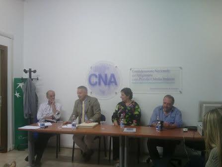 Europrogettazione, incontro nella sede della CNA con il segretario della commissione europea a Bruxelles