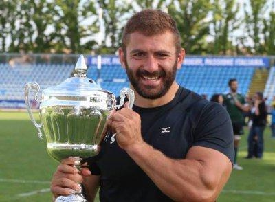 Colpo di mercato dell'Avezzano Rugby, Subrizi torna in giallonero