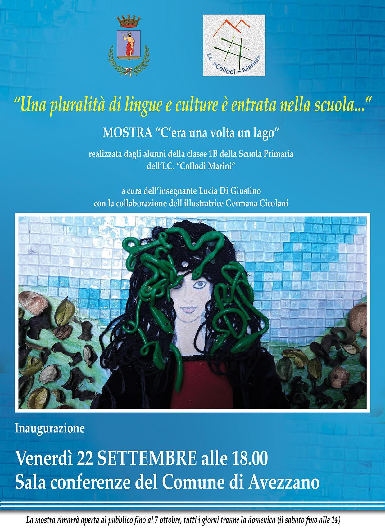 """""""C'era una volta il lago"""", mostra artistica al Comune di Avezzano"""