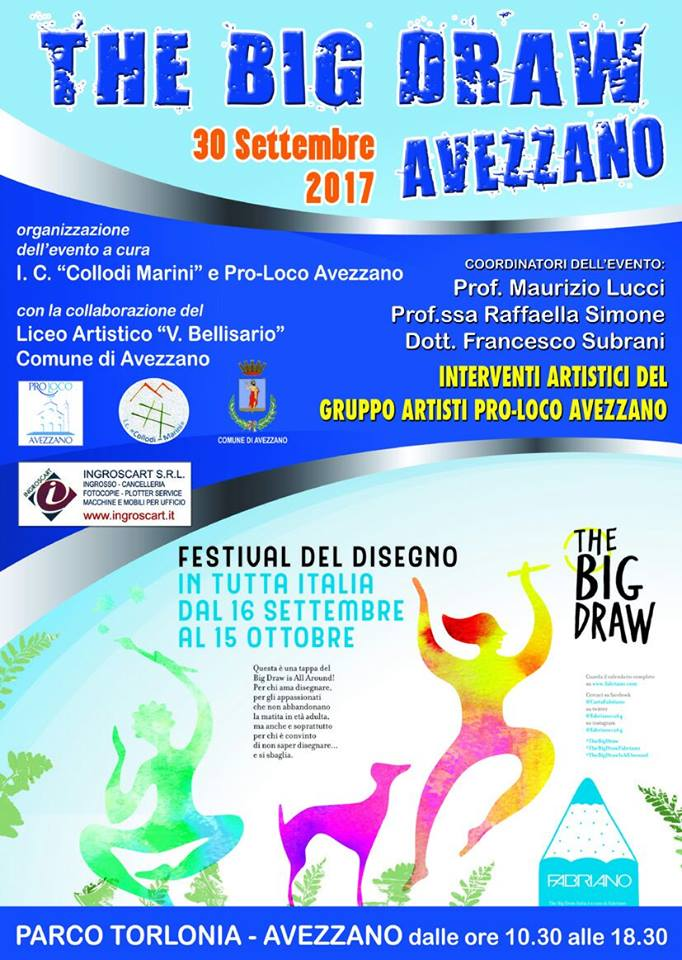 """Arriva anche ad Avezzano """"The Big Draw"""""""