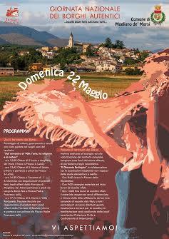 Il Comune di Magliano partecipa alla giornata nazionale dei Borghi Autentici d'Italia