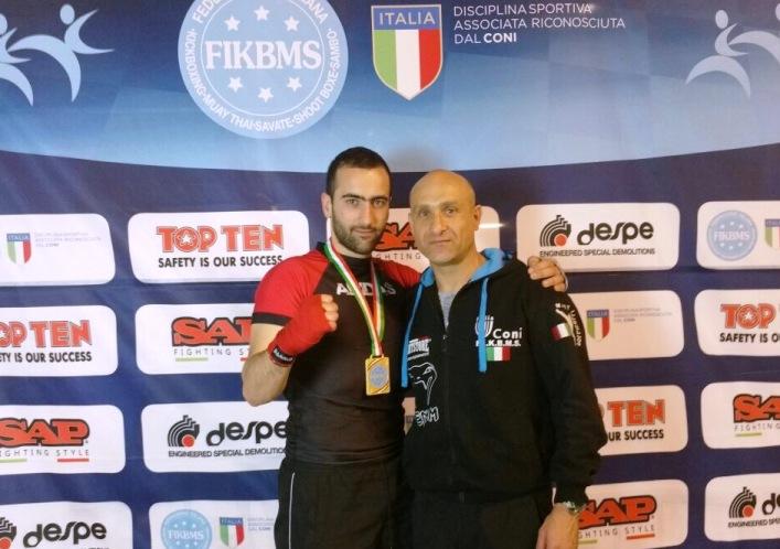 Il marsicano Claudio Palenca Tabulazzi difenderà i colori azzurri ai Campionati del Mondo di KickBoxing