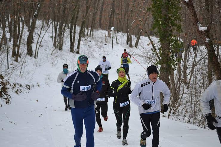Cross Trail della Befana, oltre 100 atleti hanno sfidato le basse temperature