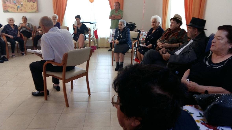 Festa d'estate alla residenza San Rocco di Collelongo