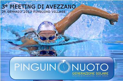 """Terzo Meeting di Nuoto Agonistico Città di Avezzano """"Memorial Cecchino Di Matteo"""""""