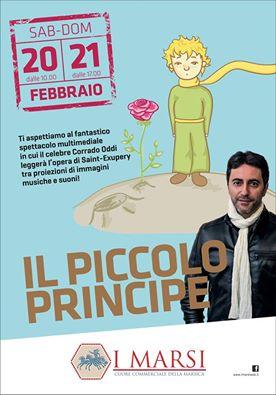 """""""Il piccolo principe"""" al Centro Commerciale I Marsi"""