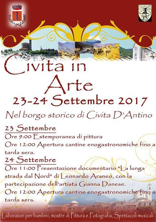 """Torna l'appuntamento culturale """"Civita in arte"""""""