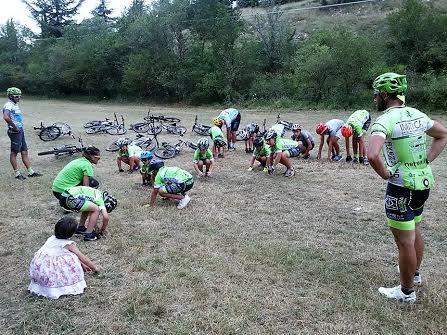 L'Avezzano MTB Camp School si trasferisce nella Riserva del Salviano