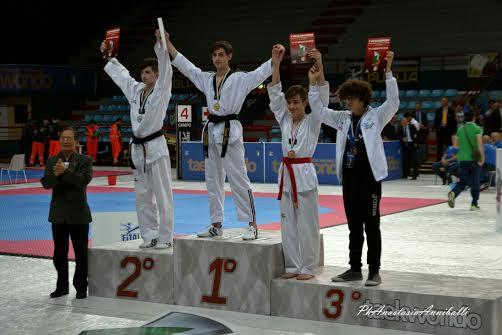 Coppa Italia di Taekwondo, al celanese Samuele Baliva la medaglia d'oro
