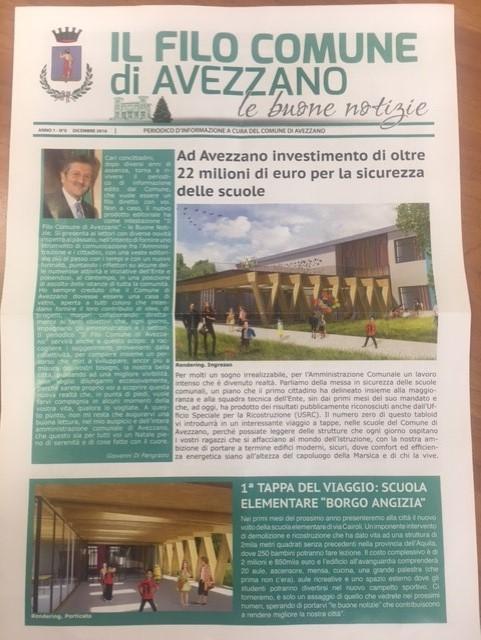 """Polemica sul giornale del Comune, Boccia: """"Costi in relazione ai benefici offerti"""""""