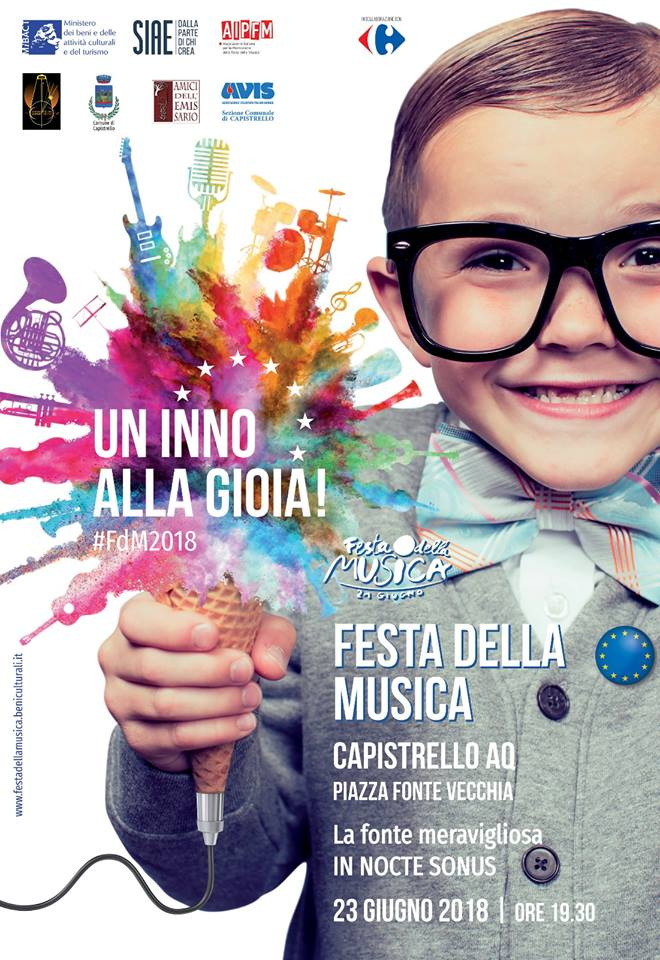 """Torna a Capistrello la """"Festa della Musica"""""""