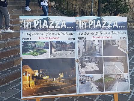 """""""Trasparenti fino all'ultimo"""", l'Amministrazione Comunale di Ovindoli scende in Piazza"""