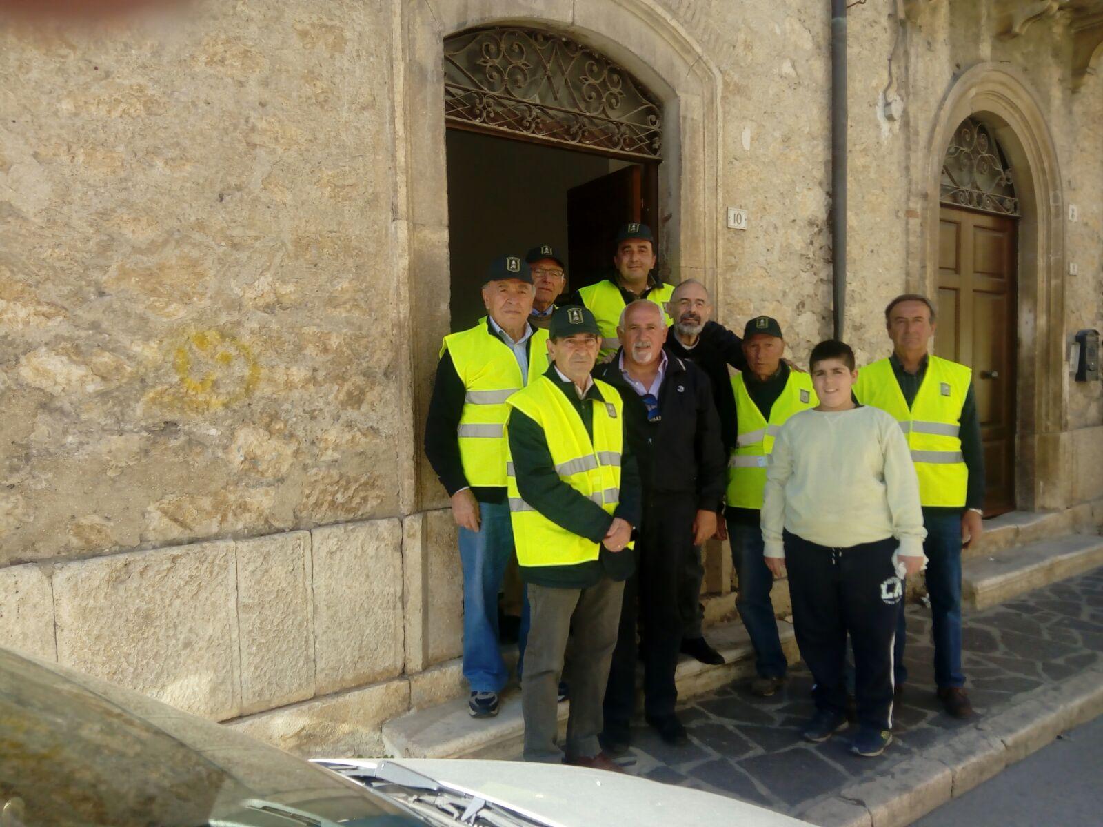 L'Associazione Nazionale Finanzieri d'Italia a sostegno delle famiglie bisognose di Trasacco