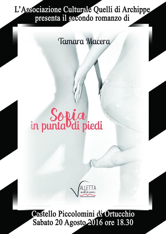 """Presentazione del romanzo """"Sofia in punta di piedi"""" ad Ortucchio"""
