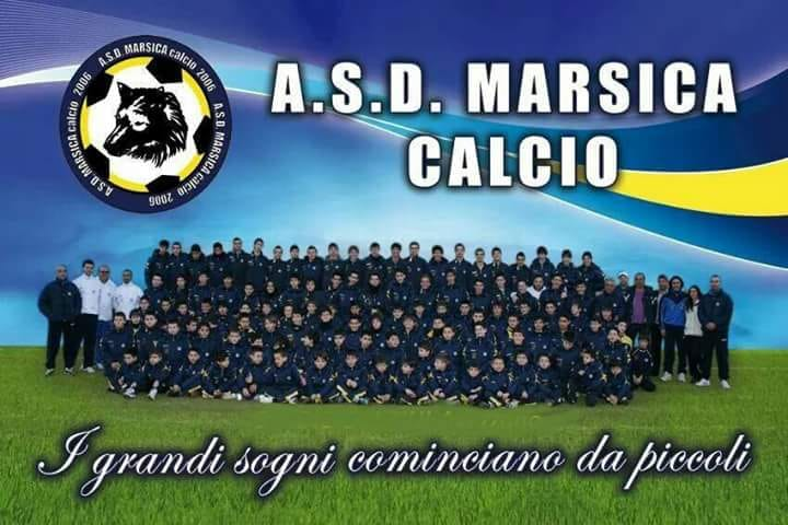 """La Marsica Calcio portabandiera nell'evento regionale """"Sei bravo a...scuola di calcio"""""""