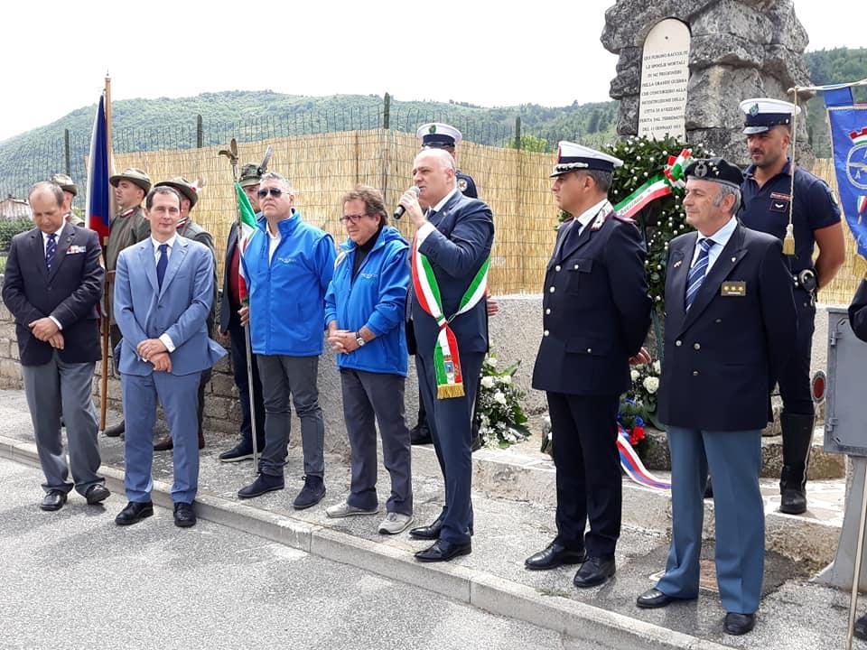 La delegazione della Repubblica Ceca ricorda i suoi caduti nella Grande Guerra