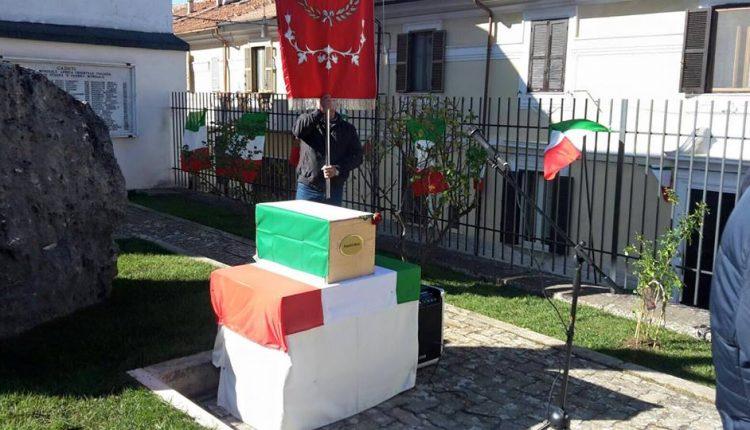 "Bracco: ""Onore al soldato Mario Marco Angeloni"""