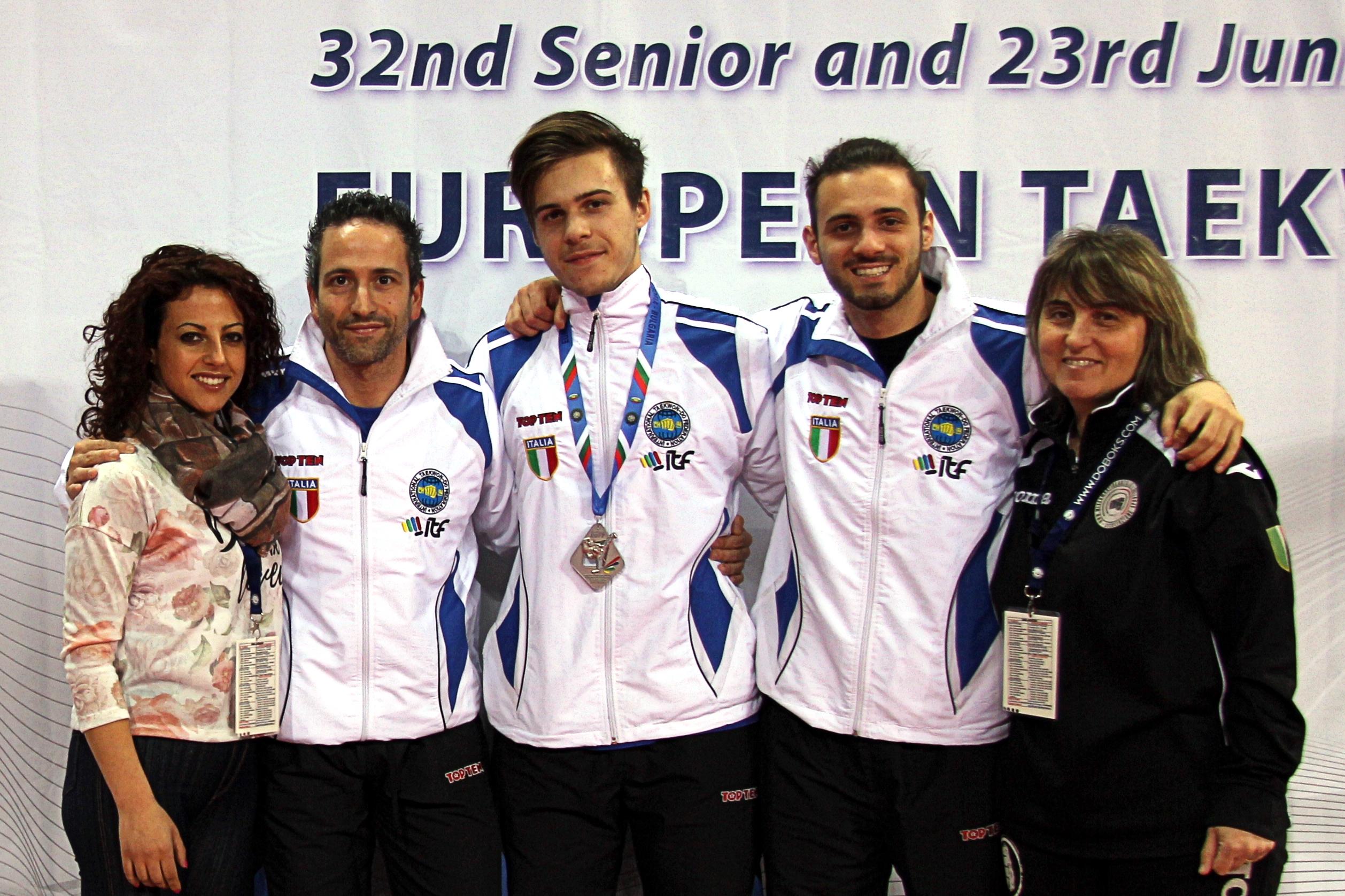 Taekwondo, argento europeo per Di Profio. Persia vola in Svezia per il seminario internazionale