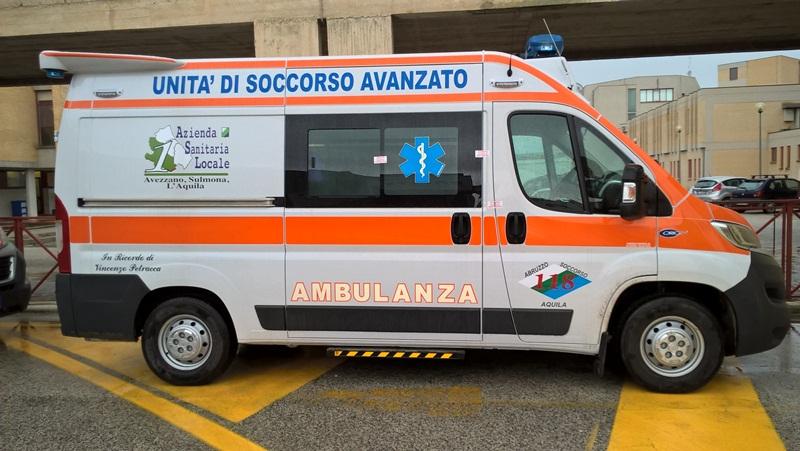 Arrivano ad Avezzano due nuove ambulanze dotate di un sistema che neutralizza virus e batteri