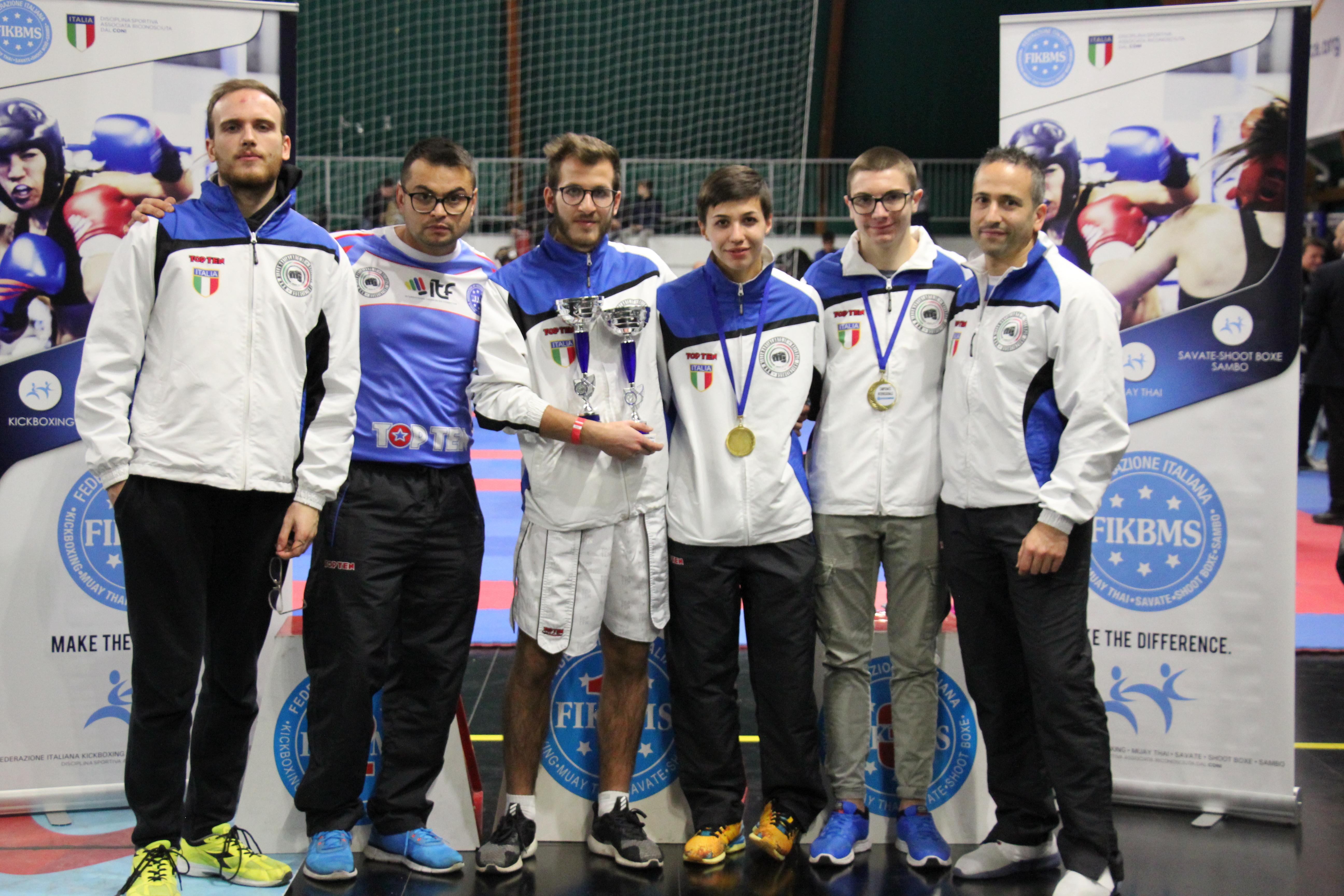 Doppio oro per Davide Piperni agli interregionali di Kick Boxing