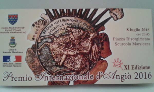Premio Internazionale d'Angiò: Grandi protagonisti per una magica serata