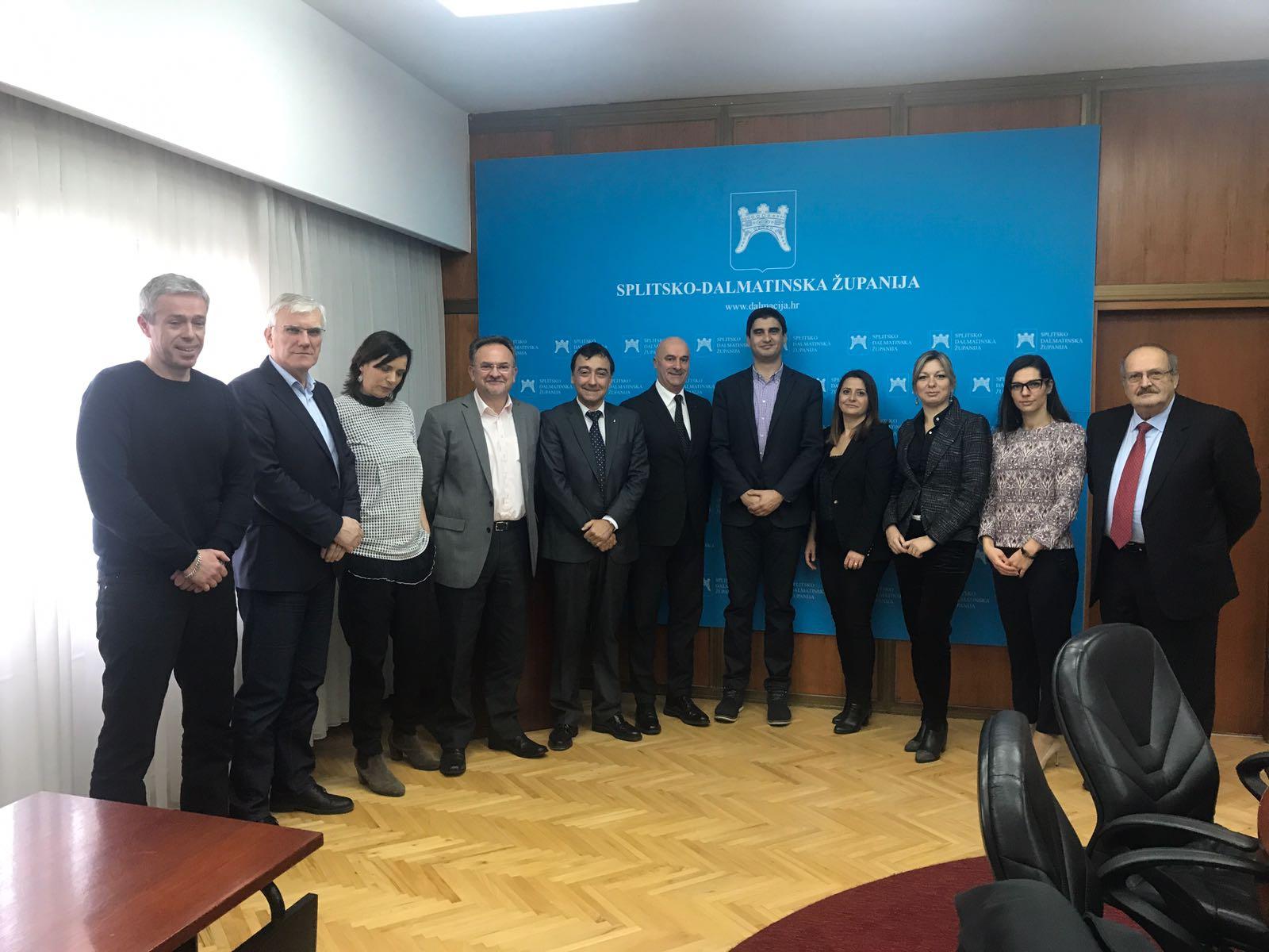 Firmato il protocollo con la Regione Spalatino-Dalmata per il progetto hadriaticum
