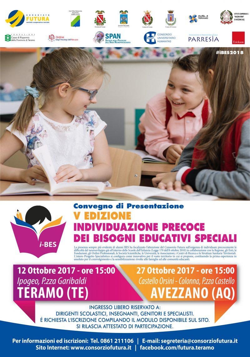 Avezzano: convegno sull'Individuazione Precoce dei Bisogni Educativi Speciali