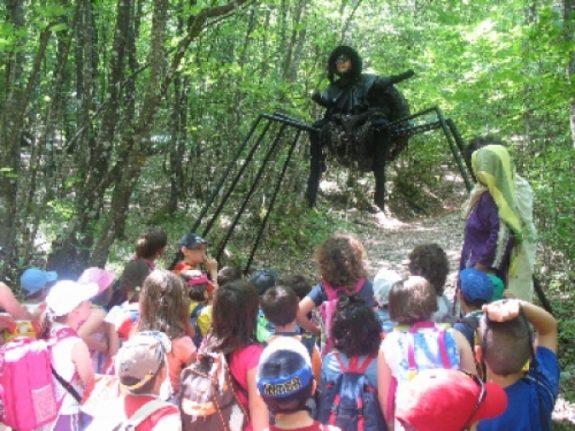 I racconti del bosco, due giorni per raccontare storie fantastiche e mitologiche