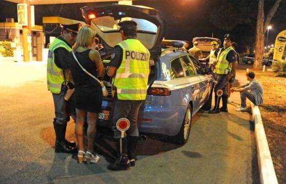 Controlli della Polizia ad Avezzano: denunciate 11 persone per guida in stato di ebbrezza