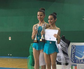 La giovane atleta marsicana Stella Aschiarolo conquista due medaglie d'oro ai campionati italiani di ginnastica ritmica