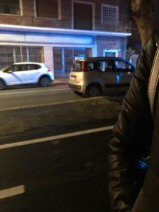 Avezzano, incidente tra via Roma e via America, due auto coinvolte
