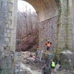 Iniziati i lavori sul ponte del fiume Giovenco della S.P. 17