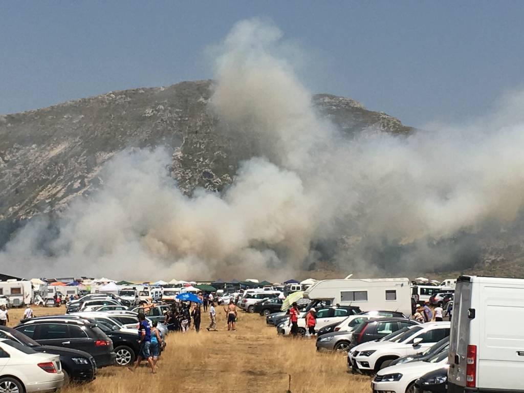 """Incendi, Conapo: """"Pochi Vigili del fuoco, senza mezzi e sottopagati. A Fonte Vetica organizzazione da rivedere"""""""