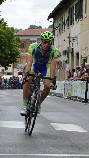 Il celanese Tirabassi 1° in classifica generale del Giro d'Italia GF 2016