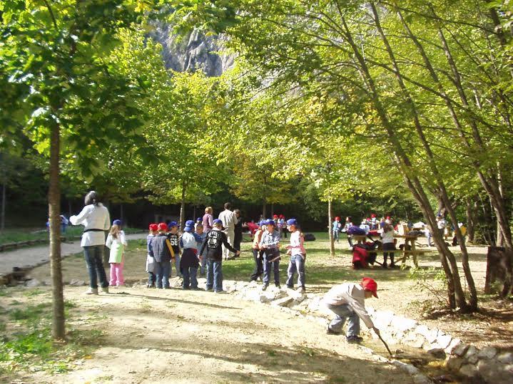 Campo estivo per bambini a Zompo Lo Schioppo