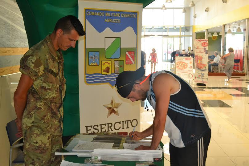 Arruolamento nell'Esercito, al via il tour promozionale estivo