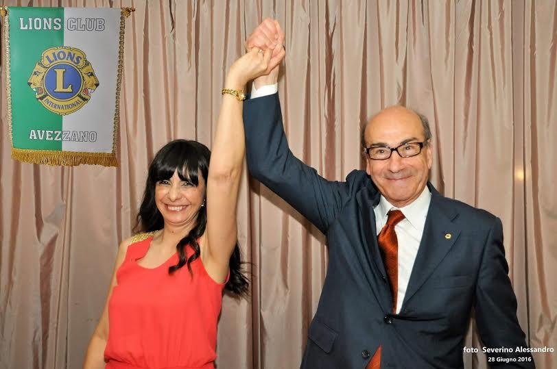 Eliseo Palmieri nuovo Presidente del Lions Club Avezzano