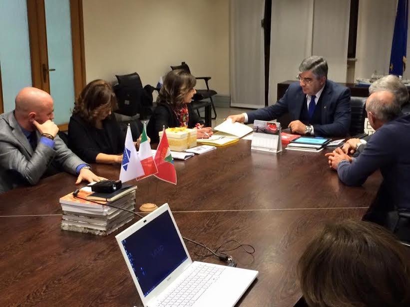 Il Sindaco Amiconi incontra in Regione il Presidente Luciano D'Alfonso