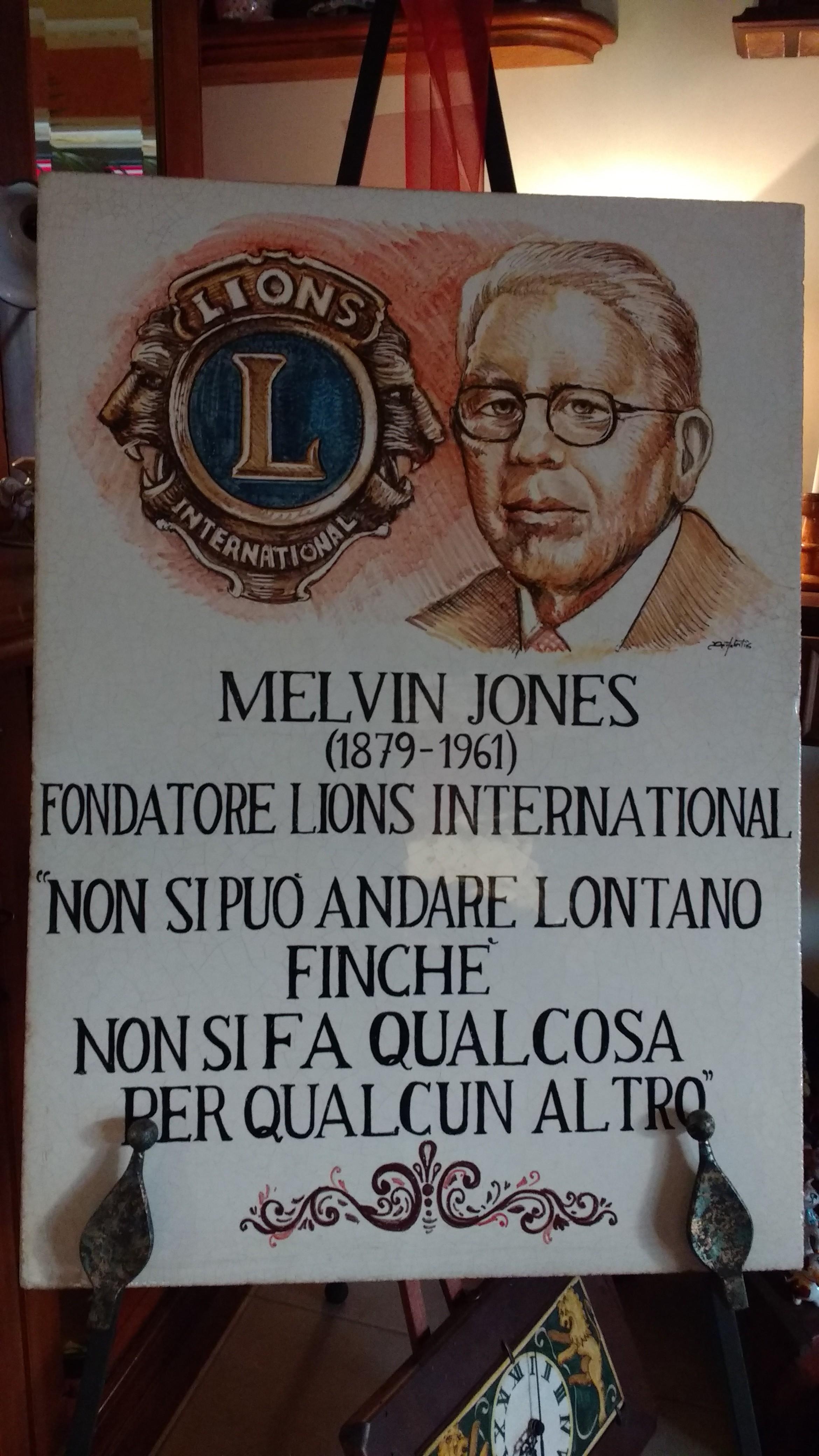 Il club Lions di Avezzano compie 50 anni, domenica l'inaugurazione di una targa a Jones