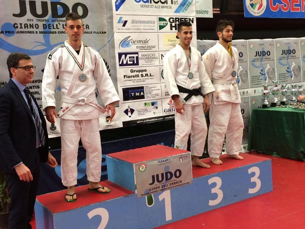 Al Gran Prix dell'Umbria secondo posto per Manfredo Vernile della Tisi judo team