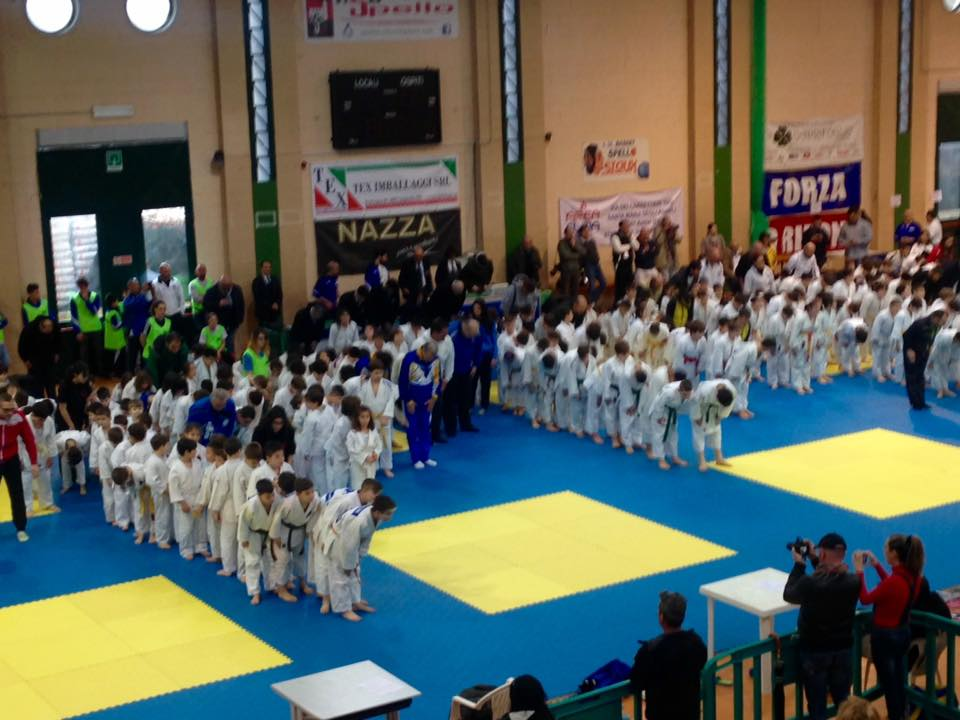 Pioggia di medaglie per i piccoli del judo marsicano alla Coppa Umbria di Spello