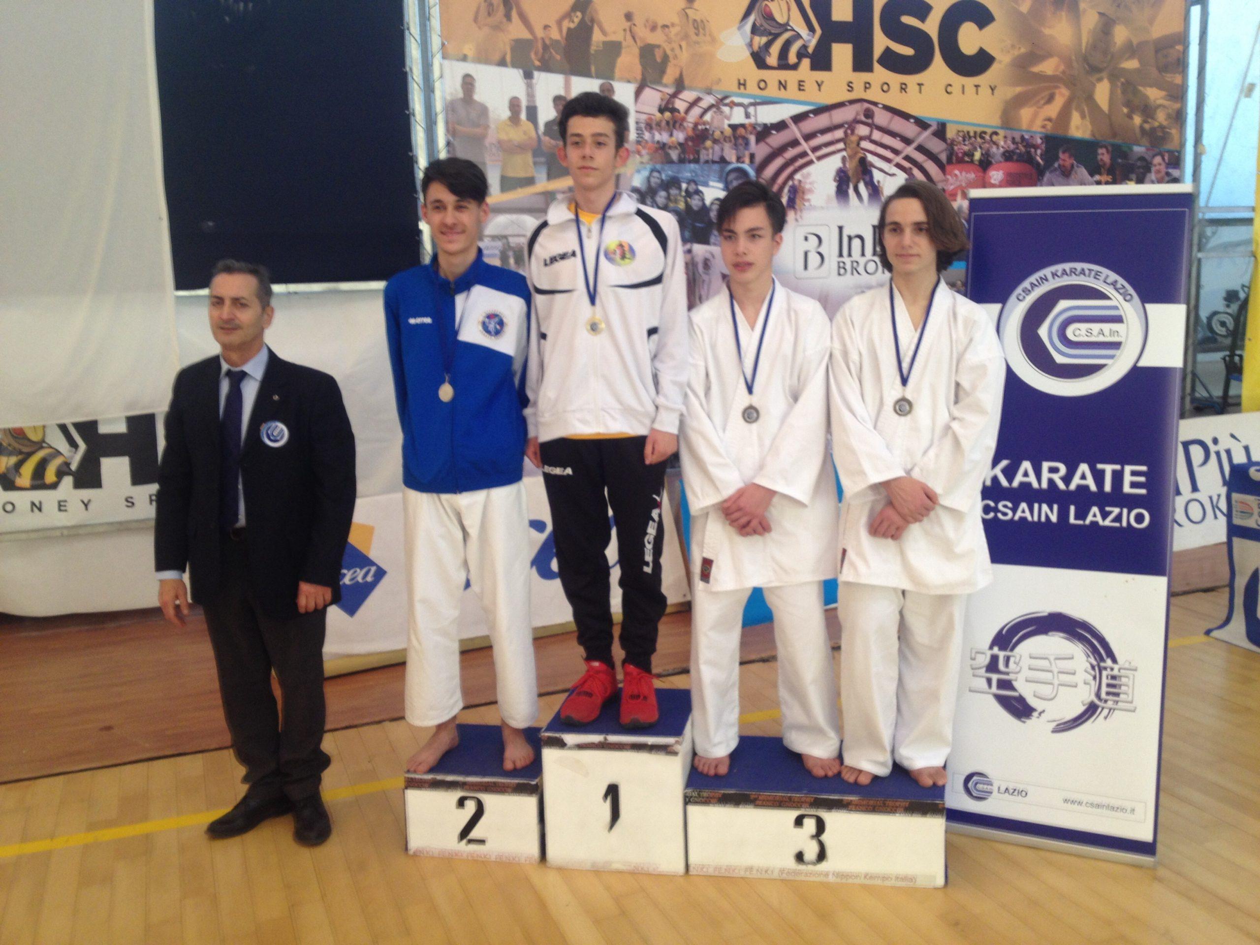 Grande affermazione per il Lion Avezzano nello Spring Competiction di Karate