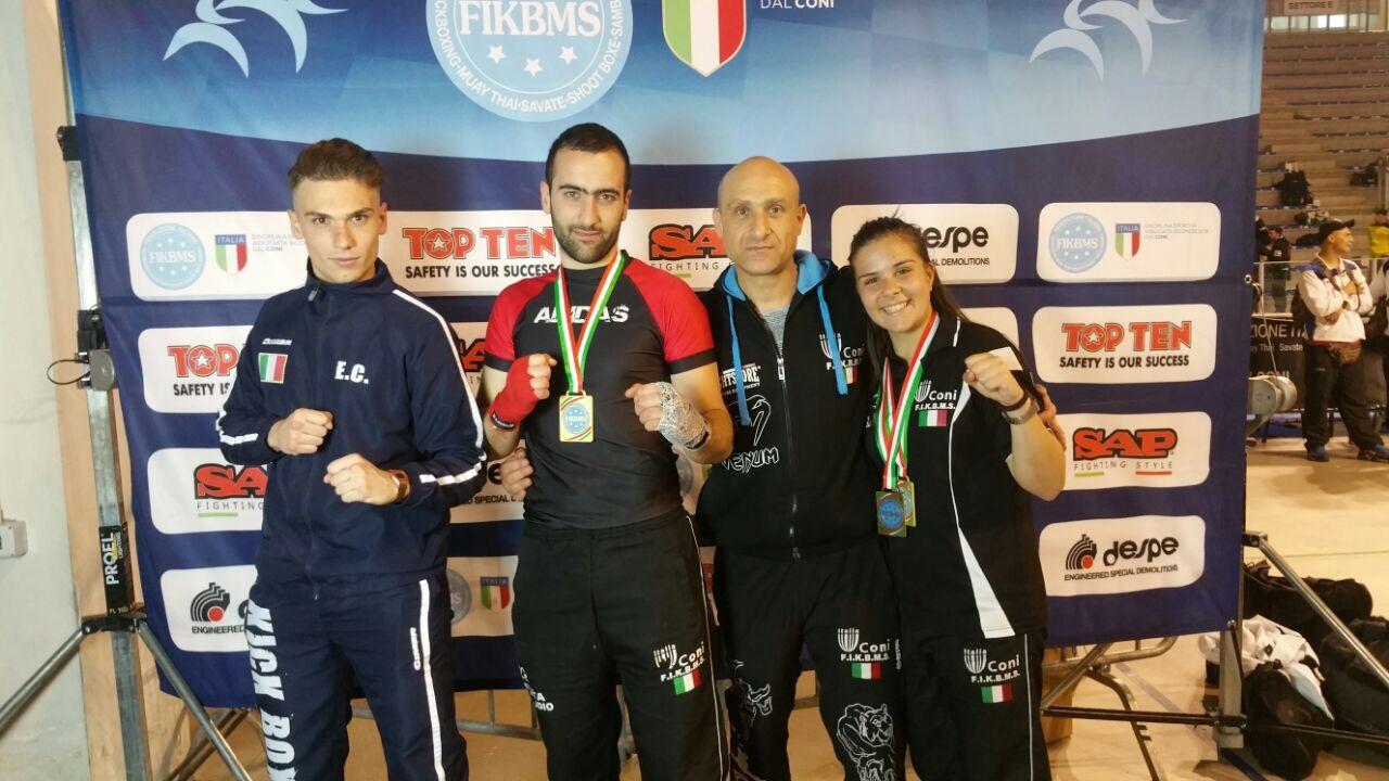 Kickboxing, grande affermazione ai campionati italiani per gli atleti della Ko Team