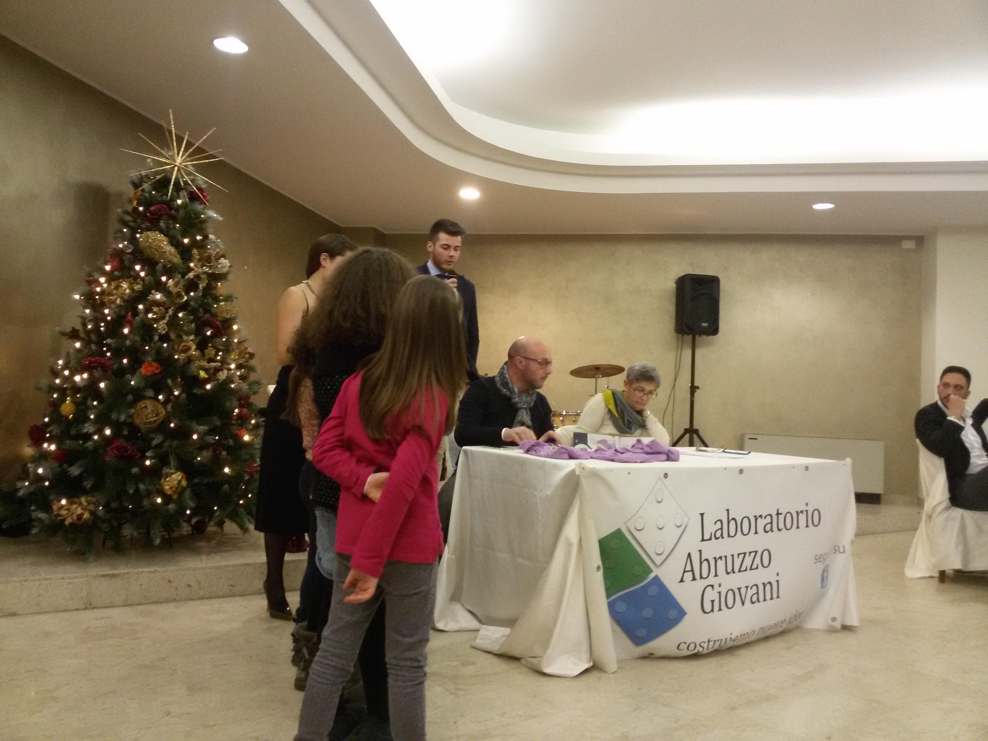 Laboratorio Abruzzo Giovani, raccolti 10mila euro per i bambini di Amatrice