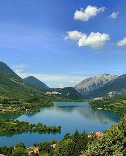 Costituzione geologica dell'Alta Valle Sangro per la formazione dei laghi di Opi e Barrea