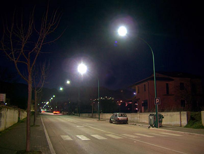 Una parte di Borgo Angizia al buio. L'appello al Comune dei residenti